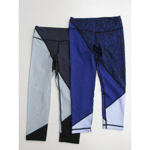 2 Pair of Vimmia Capri Yoga Leggings XS/S